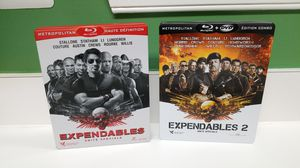 THE EXPENDABLES & THE EXPENDABLES 2 STEELBOOK for Sale in Germantown, MD