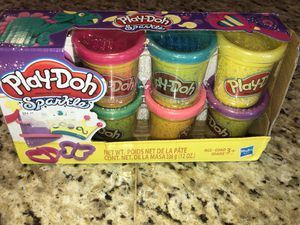 New Play Doh Sparkle 8 Count for Sale in Hemet, CA