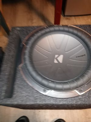 Kicker comp1. 12 inch slappin subwoofer for Sale in Everett, WA
