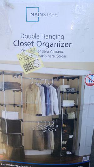 Double hanging closet organizer for Sale in Cerritos, CA