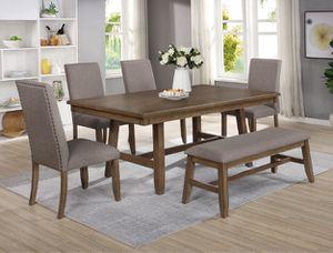 Dining table set 6 pcs $699 for Sale in San Bernardino, CA