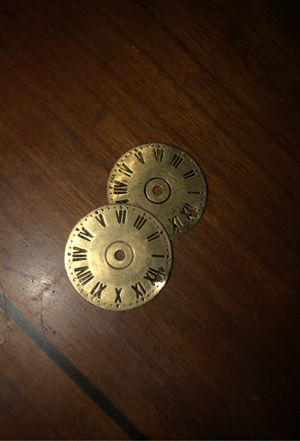 2 golden clock watch charms for Sale in Joliet, IL