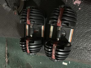 Bowflex SelectTech 552 Adjustable Dumbbells for Sale in Los Angeles, CA