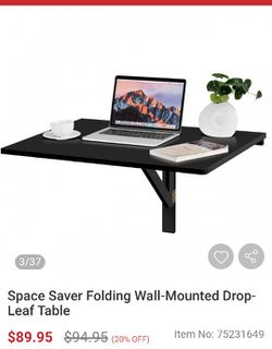 Wall Mounted Folding Table Desk for Sale in Riverside,  CA