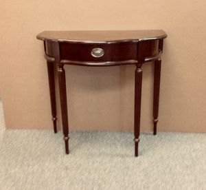 Console table w/ mirror. Bombay for Sale in Franklin, MA
