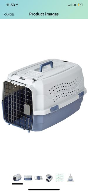 NEW Amazon-Basics Two-door Top-Load Pet Kennel for Sale in Tarpon Springs, FL