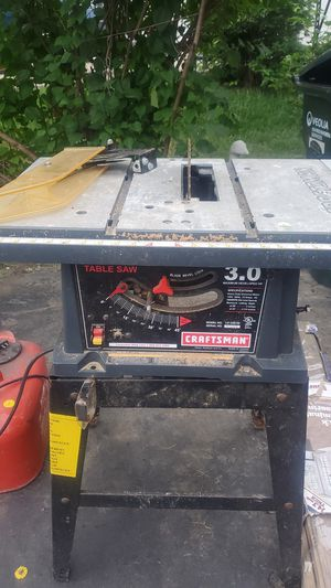 Craftsman Table Saw 10-in for Sale in Elk Grove Village, IL