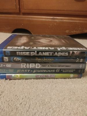 Blue ray and dvd movies for Sale in Dallas, TX