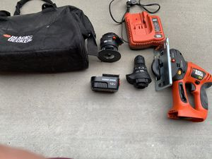 Little saw and drill with charger $50 Obo for Sale in Perris, CA
