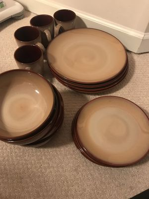 Sango dish set for Sale in Charlottesville, VA