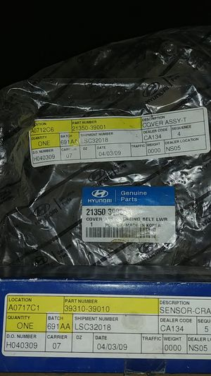 Hyundai engine parts for Sale in Hesperia, CA