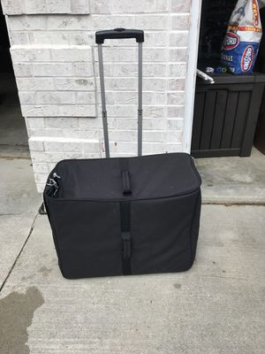Empty eyeglass frame bag with wheels. for Sale in Fort Wayne, IN