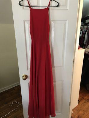 Long Red formal dress for Sale in Interlochen, MI