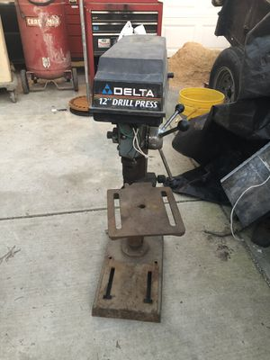 Delta drill press (needs switch) for Sale in Tracy, CA