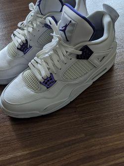 Jordan 4 Retro Metallic Purple for Sale in Edmonds,  WA