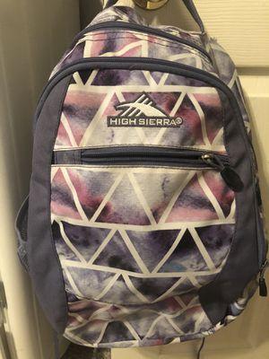 High Sierra backpack for Sale in Wylie, TX