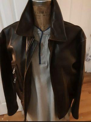 Harley Davidson Brown men's Moto jacket medium for Sale in Seattle, WA