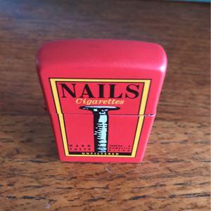 Nails zippo lighter for Sale in Yorba Linda, CA