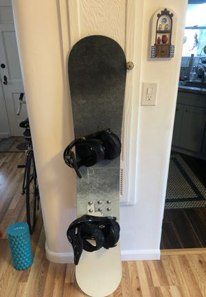 Burton Cruzer 155 Snowboard - Dakine bag, Pro Tec helmet, Scott goggles and neoprene face mask included! for Sale in San Diego, CA