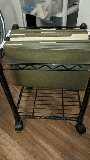 Rolling file cabinet for Sale in Portland, OR