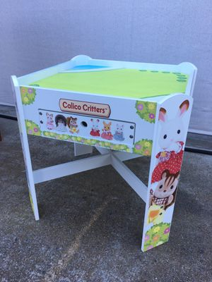 Calico Critters Playtable with storage drawer for Sale in Encinitas, CA