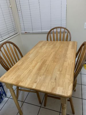 Kitchen table with chairs for Sale in Richmond, CA