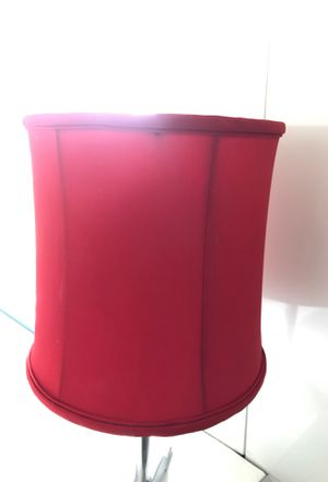 Red lamp shade for Sale in La Mesa, CA