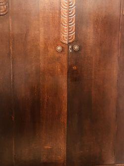 Antique 1800's Handcrafted Primitive Farmhouse Chiffarobe/Armoire. for Sale in Tampa,  FL