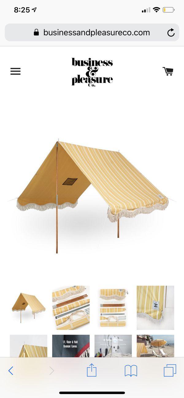 Businesses and pleasure premium beach tent