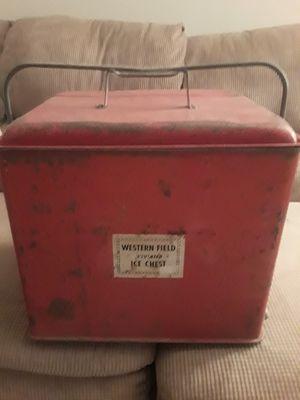 Western field cooler for Sale in Newton, KS