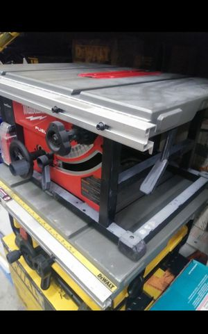 MILWUAKEE M18 FUEL BRUSHLESS ONE KEY TABLE SAW TOOL ONLY LIKE NEW for Sale in San Bernardino, CA