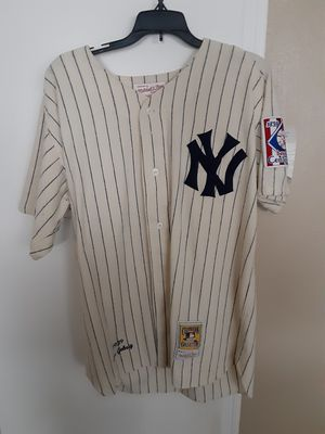 Mitchell and Ness Lou Gehrig Wool Baseball Jersey for Sale in Houston, TX
