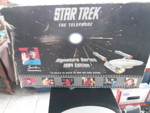 Star trek corded phone for Sale in Madison Heights, VA