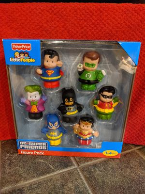 New in pkg. Little people super heroes for Sale in Wilmington, IL