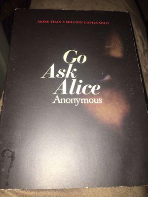 Go Ask Alice novel for Sale in Alton, IL