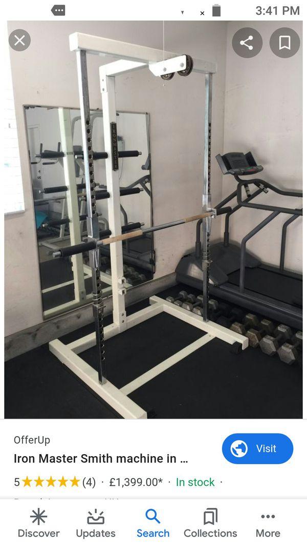Smith Machine weight set