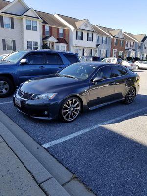 08 lexus isF wheels for Sale in Rockville, MD