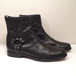 Frye Phillip Harness Mens 10.5 Motorcycle Boots New Heel for Sale in Anaheim, CA