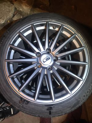 Rims w tires for Sale in Salinas, CA