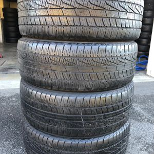 Used tires 235/55/19 good year mount and balance includes $180 for Sale in Reading, PA