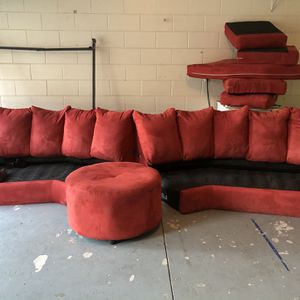 Red Couch For Sale for Sale in Clermont, FL