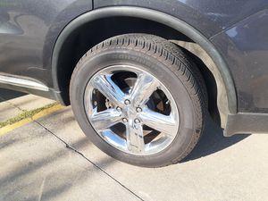 20 inch stock wheels dodge durango for Sale in Dallas, TX
