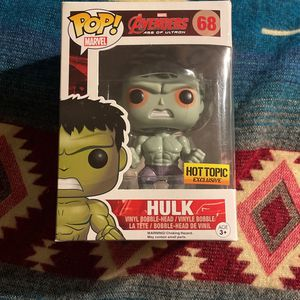Funko Pop Vinyl Figure - Hulk for Sale in Fort Lauderdale, FL