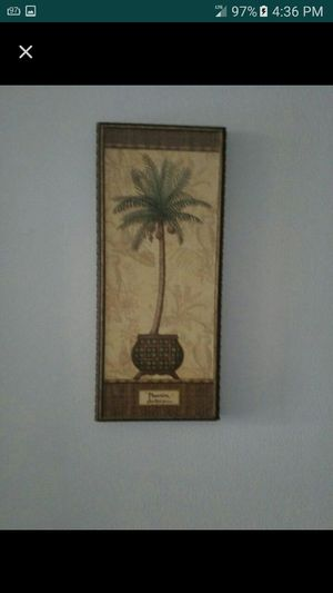 Palm tree picture frame set for Sale in Los Angeles, CA