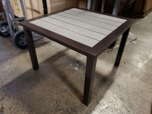 New outdoor patio furniture end table tax included for Sale in Hayward, CA