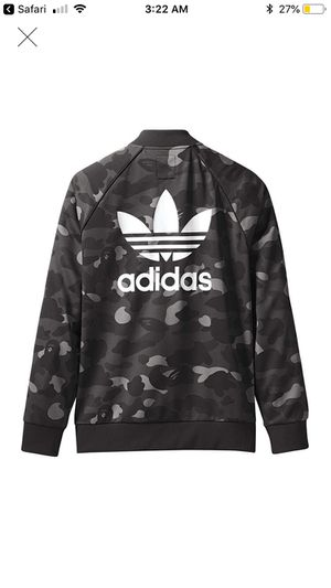 Bape adidas track jacket StockX verified size XL for Sale in Florissant, MO