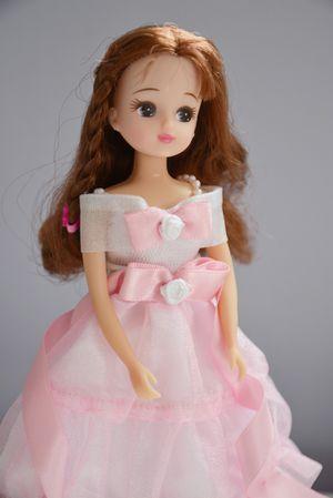 Takara Jenny Tomy Japan Barbie Doll Brunette Pink Dress 2008 for Sale in River Forest, IL