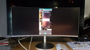 """Samsung 34"""" curved monitor for Sale in Garden Grove, CA"""