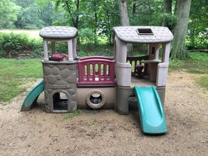 Large step 2 climb and slide for Sale in Spotswood, NJ