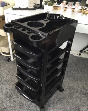 Salon Trolley Cart Storage Station with 5 Drawers for Sale in Pomona, CA